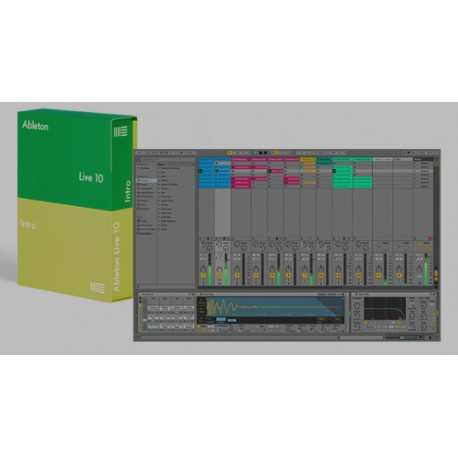 ABLETON Live 10 Intro software di produzioni audio