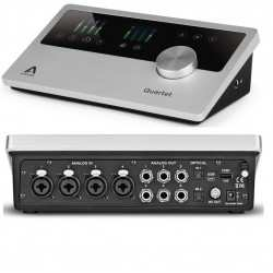 APOGEE QUARTET interfaccia audio USB 24BIT/192KHZ 4 MIC preamp