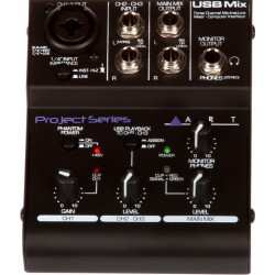 ART USB Mix Mixer 3 canali con interfaccia usb