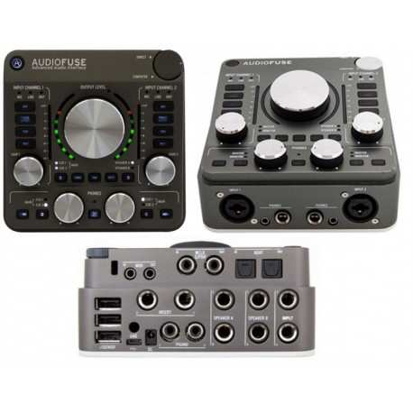 ARTURIA AudioFuse Space Grey interfaccia audio USB 14X14