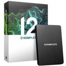 NATIVE INSTRUMENTS KOMPLETE 12 UPDATE DA KOMPLETE 2-11 suite di strumenti virtuali ed effetti per la produzione musicale