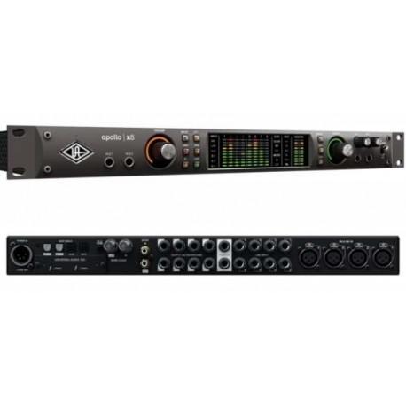 UNIVERSAL AUDIO APOLLO X8 Interfaccia audio Thunderbolt 3, 18 x 24 I/O, con conversione class-leading 24-bit/192 KHz