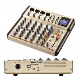 PHONIC AM8GE mixer audio 8 canali