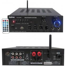 KARMA PA 2340BT amplificatore stereo con mp3 e bluetooth 2 x 40w