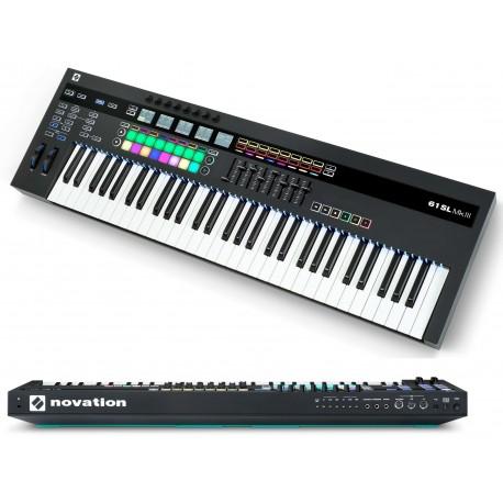 NOVATION SL61 MKIII USB MIDI controller