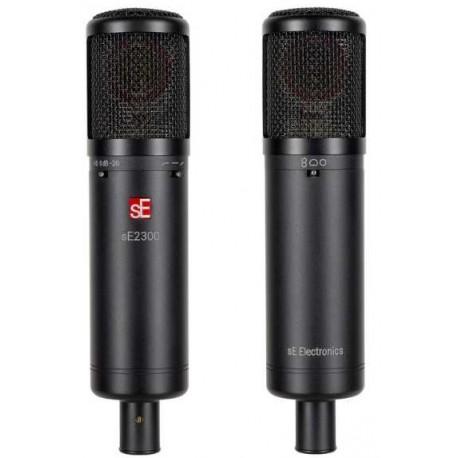 sE ELECTRONICS sE2300 microfono a condensatore multipattern con capsula larga