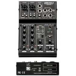 ART USB MIX4 mixer 4 canali usb