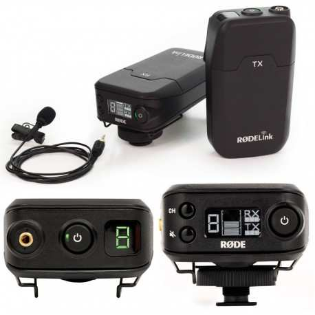 RODE Filmmaker Kit microfonico wireless
