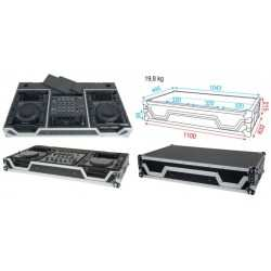 DAP AUDIO Flightcase consolle DJ
