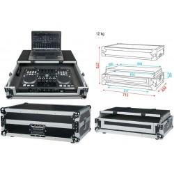 DAP AUDIO Universal case per DJ controller 4 canali