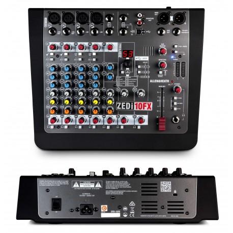 ALLEN&HEATH ZEDi10FX mixer 10 canali con effetti e USB