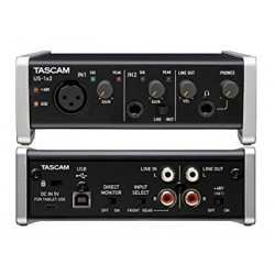TASCAM US 1x2 interfaccia audio USB 1X2