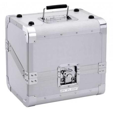 RELOOP 80 Record Case Silver case porta dischi