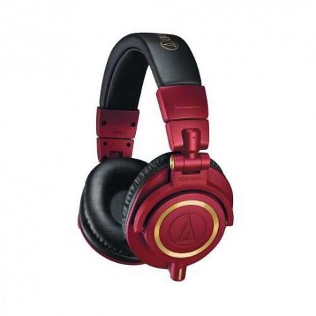 AUDIO TECHNICA ATH-M50XRD limited edition cuffia monitor pieghevole rossa