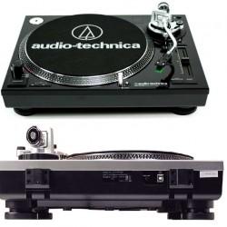 AUDIO TECHNICA ATLP120 USBHC Black giradisch professionale usb a trazione diretta