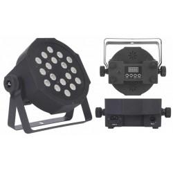 SAGITTER SLIMPAR 18C proiettore slimpar 18x1w led RGB
