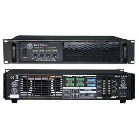 TOPP PRO TMA 250.4 amplificatore rack 2u 4 canali 4x220w