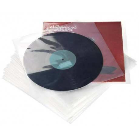 "GLORIOUS LP PVC Sleeve Pack 12.5"" (set of 100)"