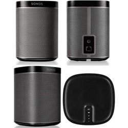 SONOS PLAY:1 speaker attivo per streaming wi-fi / lan nera