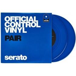 """SERATO Blue 7"""" coppia di vinili di controllo blu"""