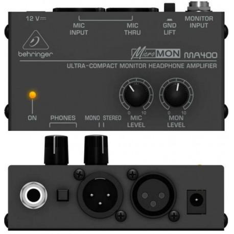 BEHRINGER MA400 MicroMon amplificatore x cuffie