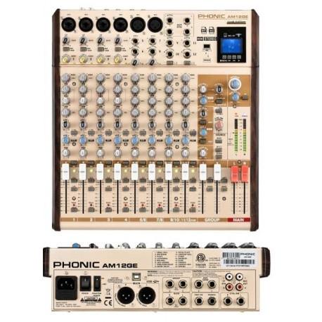 PHONIC AM12GE mixeraudio a 12 canali