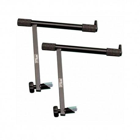 BESPECO HX-clamp system AGT - coppia bracci supplementari per supporti reggi-tastiera