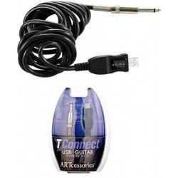 ART USB TCONNECT cavo usb per chitarra