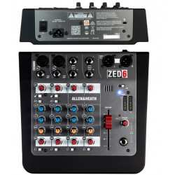 ALLEN & HEATH ZED 6 mixer analogico 6 input