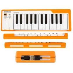 ARTURIA MICROLAB orange usb midi controller 25 tasti mini arancione