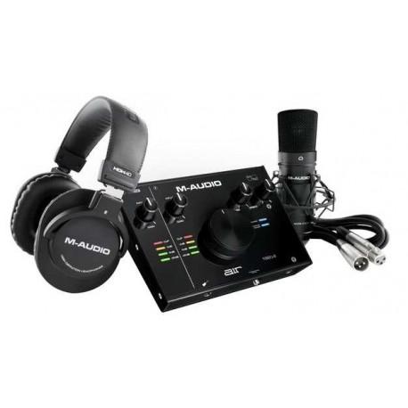 M-AUDIO AIR 192 4 VOCAL STUDIO pack completo per produzione audio