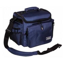 ZOMO DJ TANK(navy) borsa semirigida per vinili blue