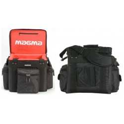 MAGMA LP-Bag 100 Profi black/red borsa per 90 dischi in vinile