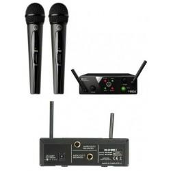 AKG WMS40 Pro Mini 2 Dual Vocal SetDoppio radiomicrofono