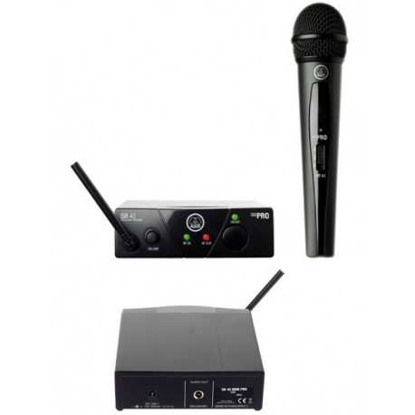 AKG WMS40 Pro Mini Vocal SetMicrofono wireless
