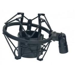 SHOWGEAR supporto Anti-shock per microfoni nero(d8945)