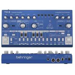 BEHRINGER TD-3 BU Blue synth analogico di bassi con step sequencer