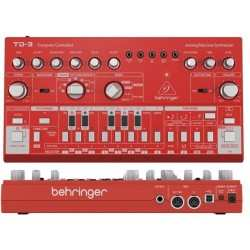 BEHRINGER TD-3 RD Red synth analogico di bassi con step sequencer