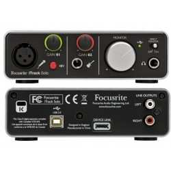 FOCUSRITE iTrack Solo Lightning scheda audio compatibile lightnig