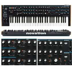 NOVATION Summit synth polifonico a 16 voci a due parti multitibrico