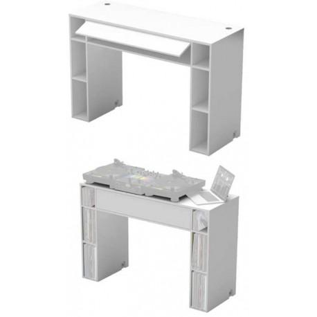GLORIOUS Modular Mix Station White tavolo pr dj