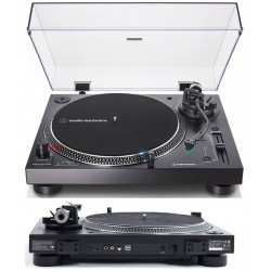 AUDIO TECHNICA AT-LP120XUSB black giradischi professionale per DJ