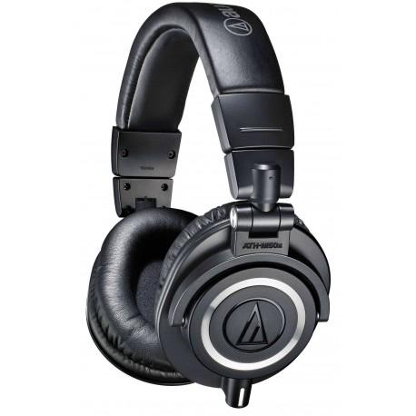 AUDIO TECHNICA ATH-M50X cuffia monitor nera