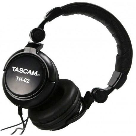 TASCAM TH-02 cuffie monitor chiuse