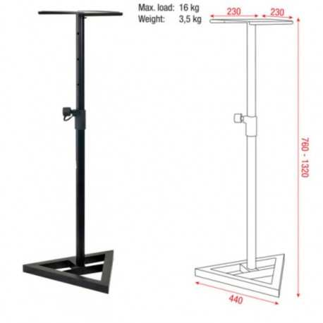 DAP AUDIO Monitor speakerstand (D8320)
