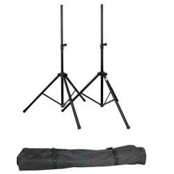 SHOWGEAR Speaker stand set (borsa di trasporto inclusa) D8324