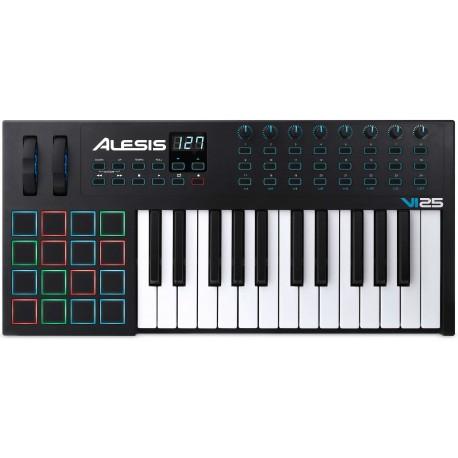 ALESIS VI25 USB midi controller a 25 tasti semi-pesati