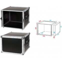 DAP AUDIO DoubleDoor Case8U D7374B