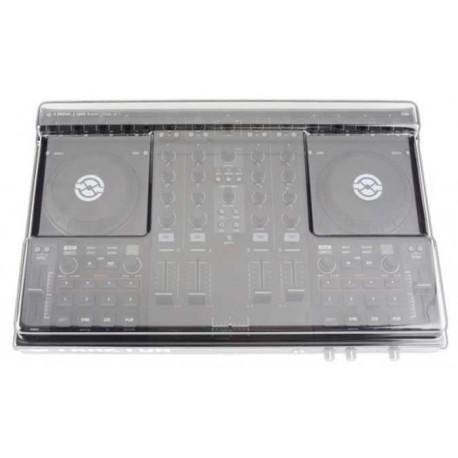 DECKSAVER Kontrol S4 Cover coperchio in plastica trasparente per NI Kontrol S4