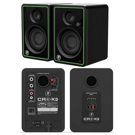 "MACKIE CR3-XBT(coppia) Monitor da studio con woofer da 3"" e bluetooth"